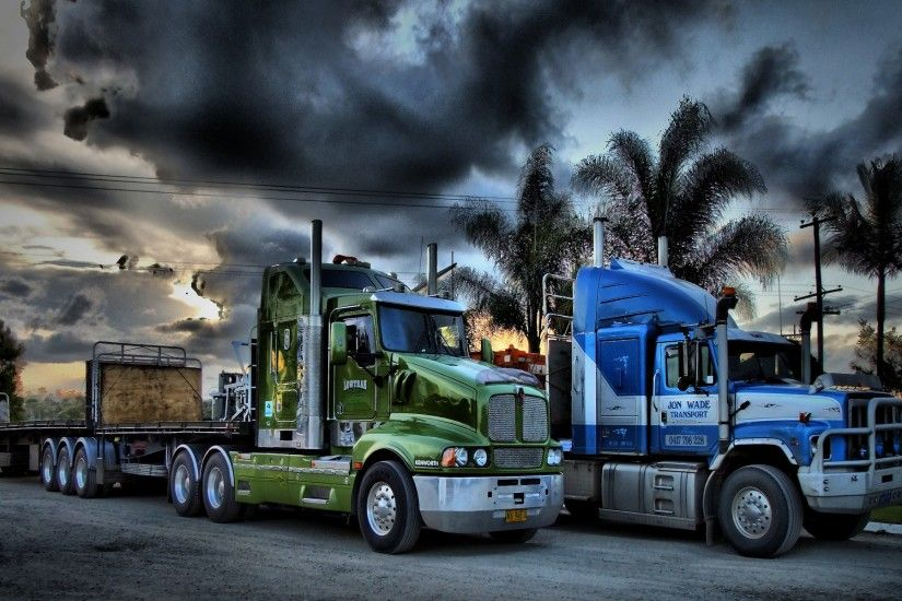 Kenworth Trucks Semi Trailer Wallpaper Image Photograph Dual steering New  Wallpapers of Trucks Semi trailer 18 wheeler truck big rig new cars trucks  and ...