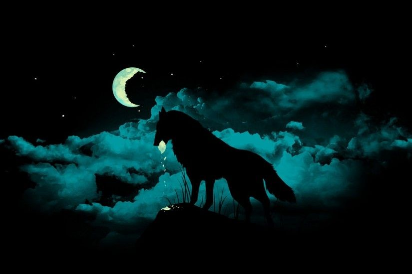 Fantasy - Wolf Wallpaper