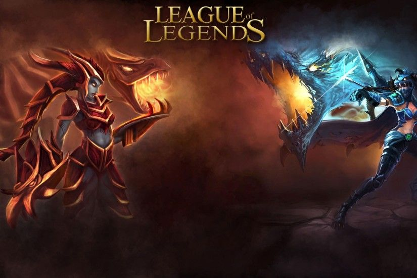 ... League of Legends Wallpaper – Top, Mid, Jungle, ADC und Support - GIGA  ...