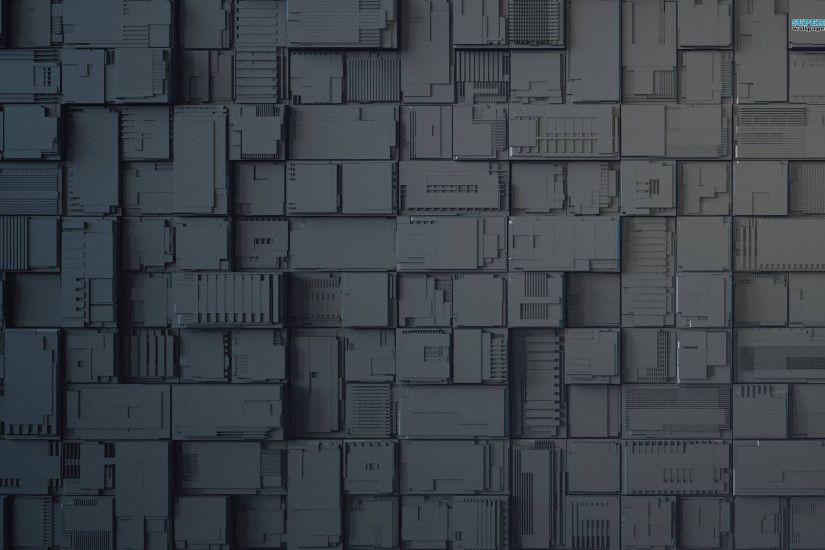 Greebles Abstract desktop wallpaper, Greeble wallpaper - Abstract no.