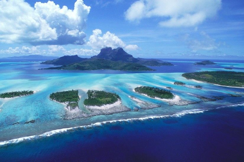 Bora Bora Beach Stunning Wallpaper