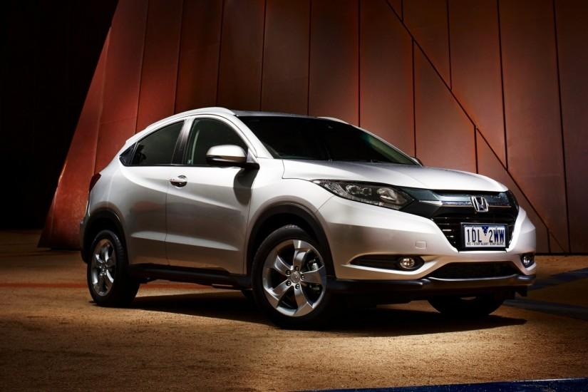 Preview wallpaper honda, hr-v, au-spec, white, side view