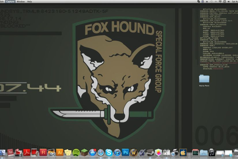 Fox Hound by Junkandres on DeviantArt