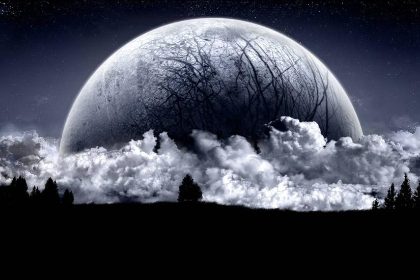 download free moon wallpaper 2560x1600 hd
