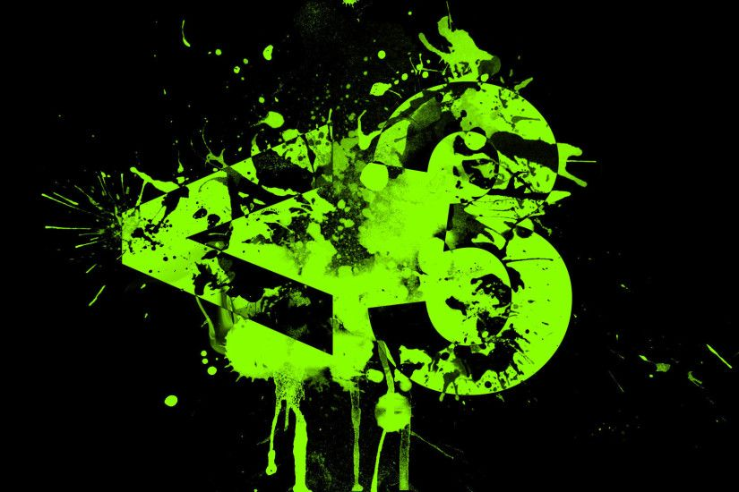 0 Black And Green Backgrounds Black And Lime Green Wallpapers Group
