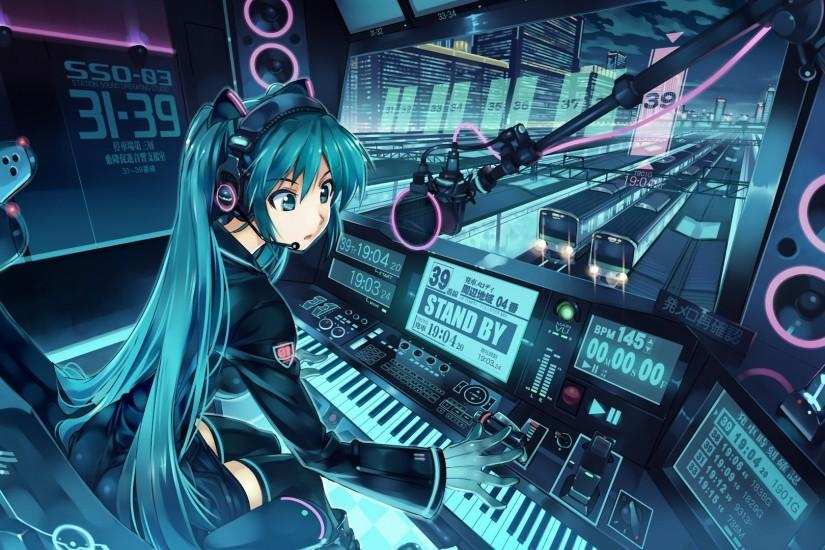 Anime Music Wallpapers Desktop Background Free Download Wallpapers  Background 1920x1080 px 497.55 KB Anime City Iphone