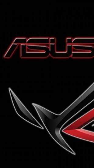 Preview wallpaper asus, computers, company, logo, shadow 1440x2560