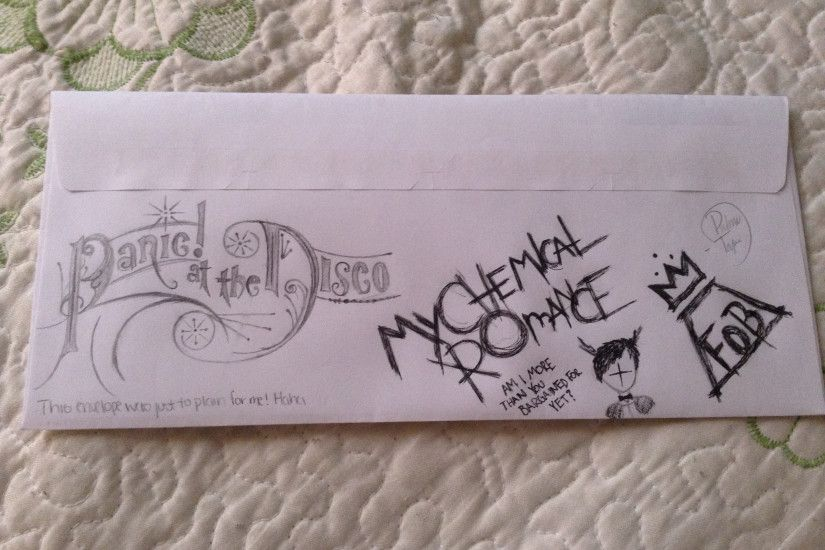 Panic At The Disco Fall Out Boy And My Chemical Romance Logos