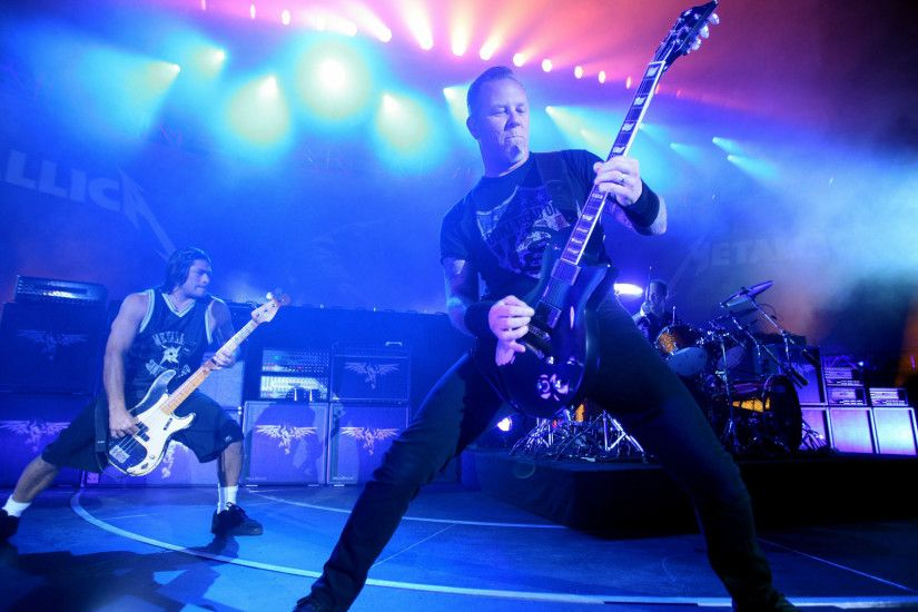 Metallica On Stage wallpaper