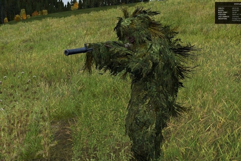 New Ghillie Colors: Green
