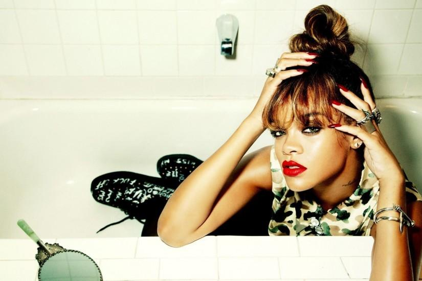 Rihanna Photo Consep Wallpaper Widescreen #14604 Wallpaper .