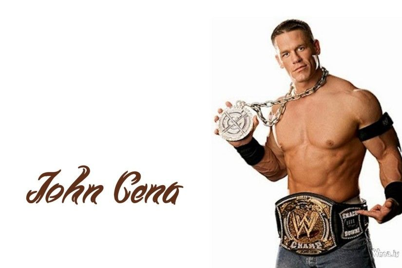 ... John Cena Showing His Belt Wallpaper ...