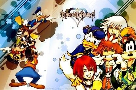 kingdom hearts, game, containing, wallpapers