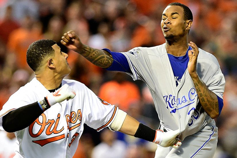 Manny Machado was wrong to go after Royals pitcher Yordano Ventura | MLB |  Sporting News