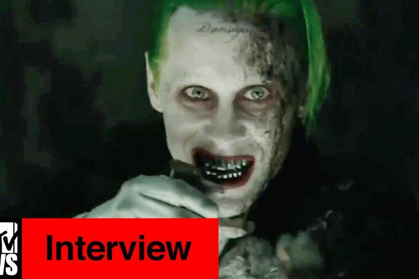 Suicide Squad Cast Confirms Jared Leto Went 'Full Joker' | MTV News -  YouTube