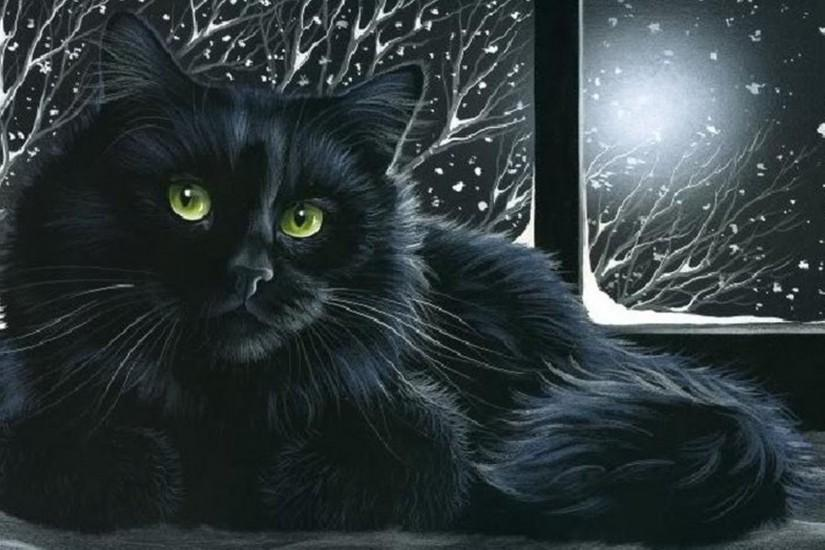 Black Cat Wallpaper 448984 ...