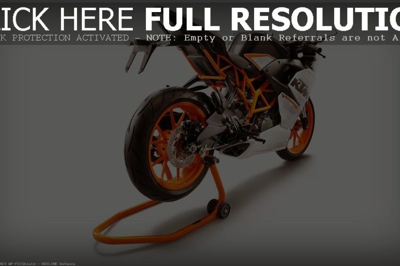 2015 KTM RC390 wallpapers hd