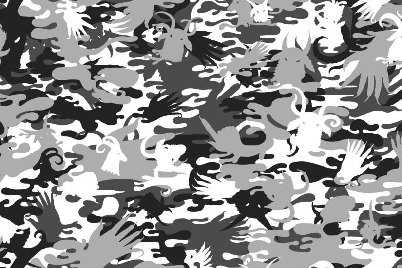 Camo Pattern Wallpaper.
