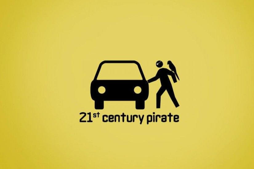 Funny 21St Century Pirate 4K Full Hd Backgrounds - HD Wallpapers