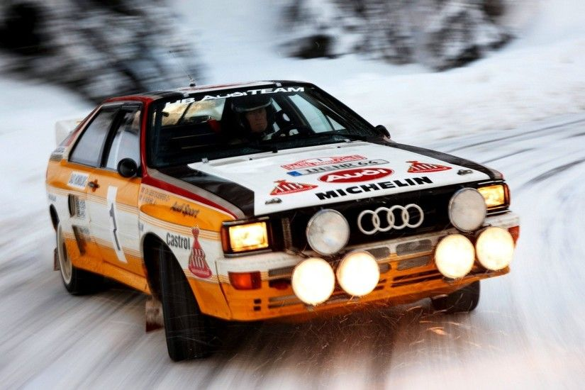 car wallpapers audi quattro group b rally car snow speed light vehicles  wallpapers audi quattro rally