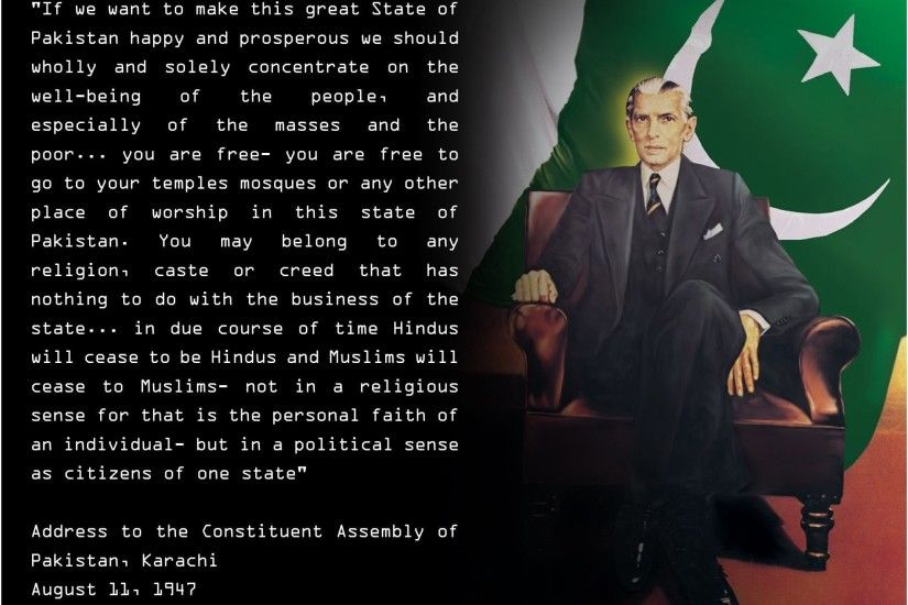 Quaid E Azam Muhammad Ali Jinnah Addressed To Nation.jpg