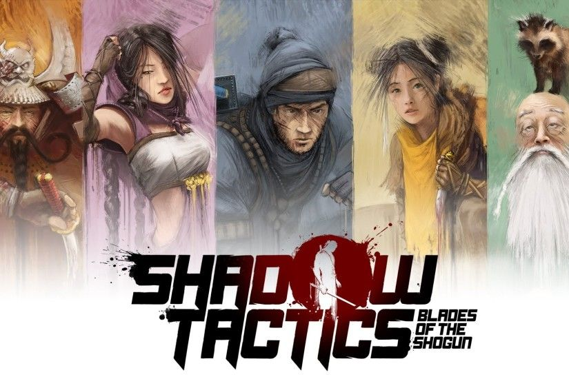 high resolution wallpapers widescreen shadow tactics blades of the shogun