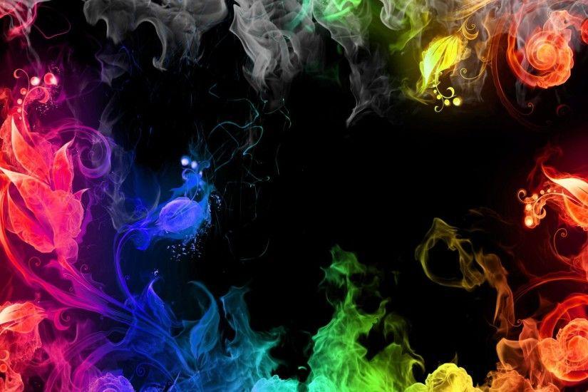 Trippy Smoke Backgroun...