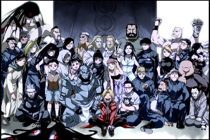 fullmetal alchemist brotherhood wallpaper 1920x1080 windows 7