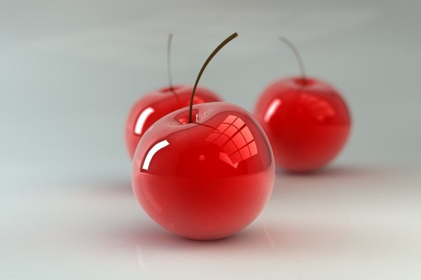 3d red apple wallpaper dowload