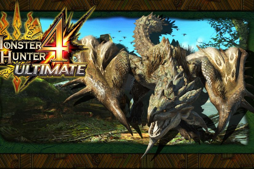 Monster Hunter 4: Ultimate - Rathian Wallpaper by DaKidGaming