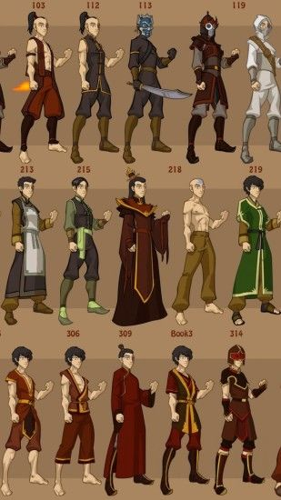HD Avatar The Last Airbender Background for Android.