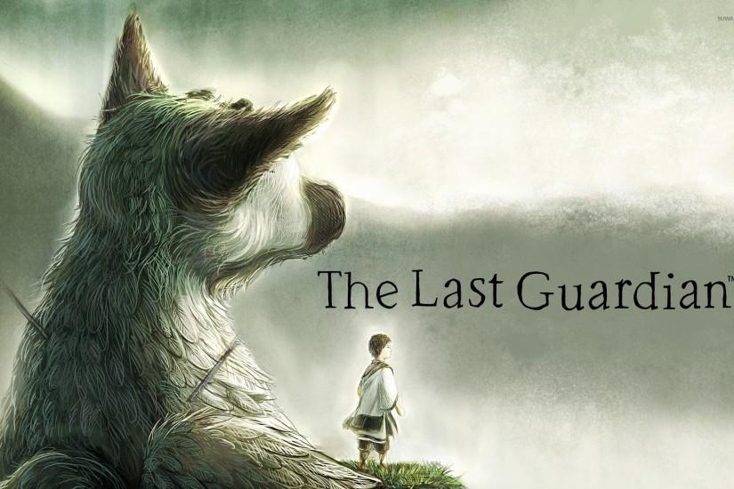 Trico and The Boy in The Last Guardian wallpaper