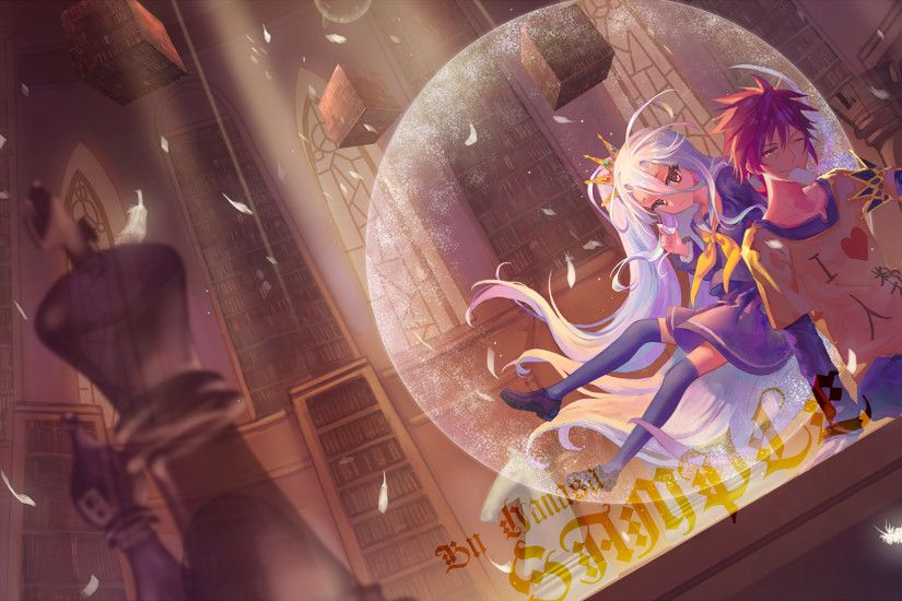 Anime - No Game No Life Sora (No Game No Life) Shiro (No