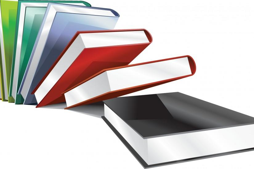 Books PNG image with transparency background