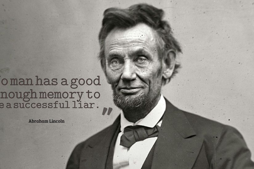 Abraham Lincoln Quotes Wallpaper HD 13775
