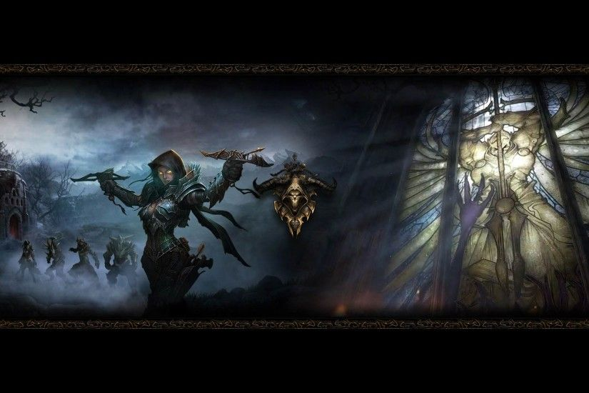 Demon Hunter Diablo Wallpaper HD For Desktop and Mobile 1920×1080 Demon  Hunter Wallpapers |