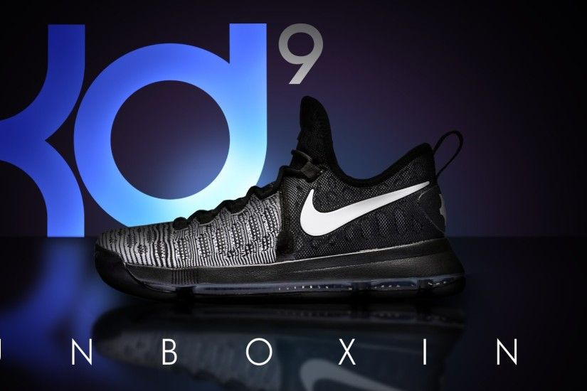 ... shoe pictures and wallpapers 44 nike kd 9 unboxing mic drop black and  white oreos on feet ...