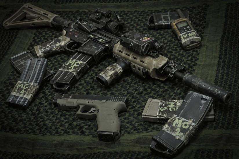 Guns weapons calendar m4 wallpaper | 2560x1600 | 8101 | WallpaperUP