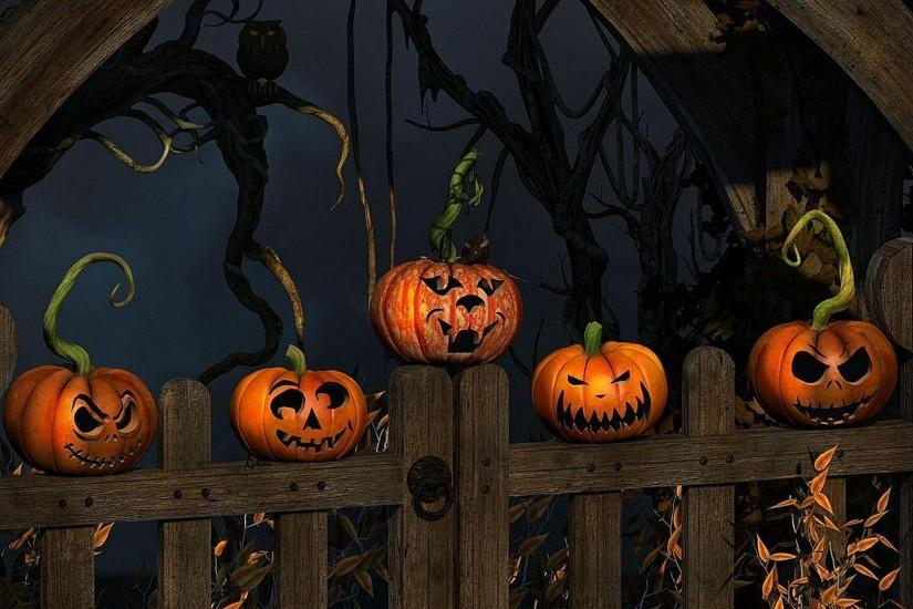 popular halloween backgrounds 1920x1080 for windows 7