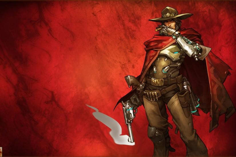 download free mccree wallpaper 2553x1600 for retina