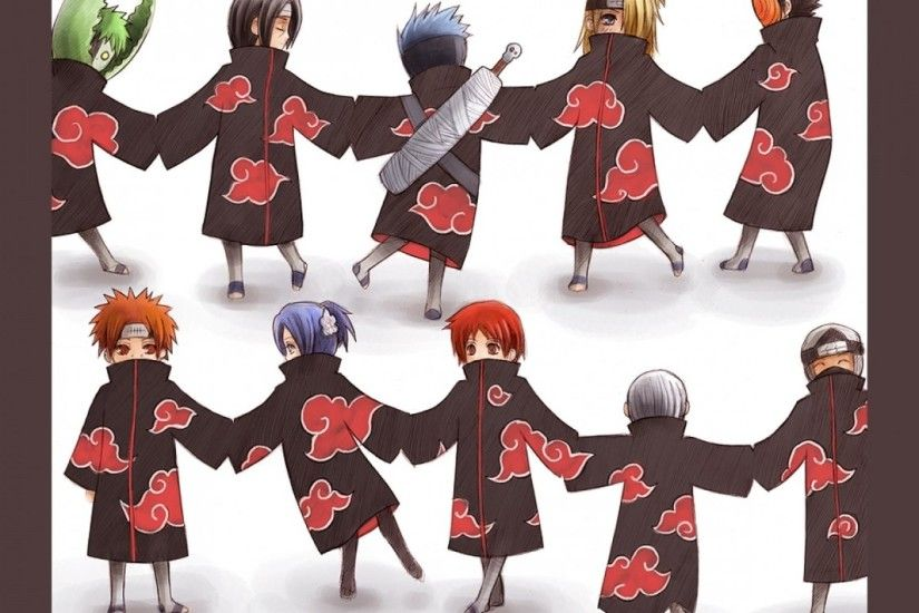 Naruto Akatsuki Dance Wallpaper