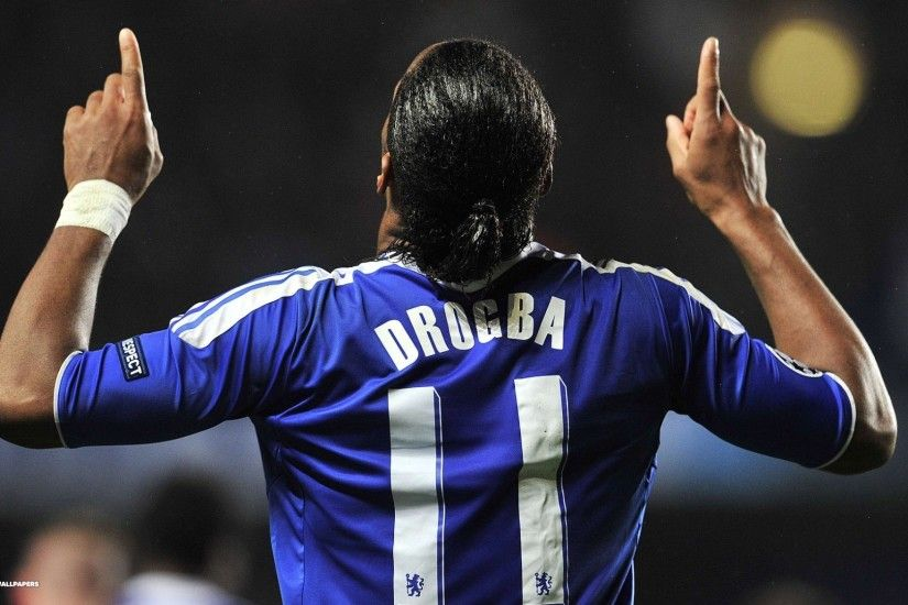 Chelsea FC, Didier Drogba Wallpapers HD / Desktop and Mobile Backgrounds