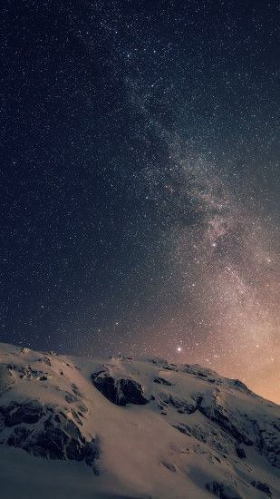 papers.co wallpaper papers.co-ad01-wallpaper-apple-ios8- · Night SkiesStarry  ...