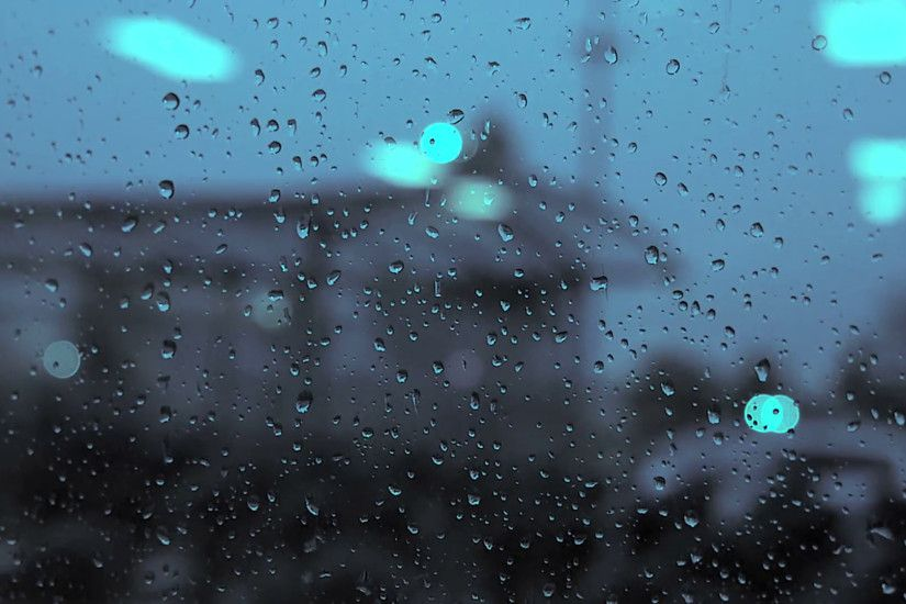 rain day. raining. crying sadness sad. blurred background Stock Video  Footage - VideoBlocks