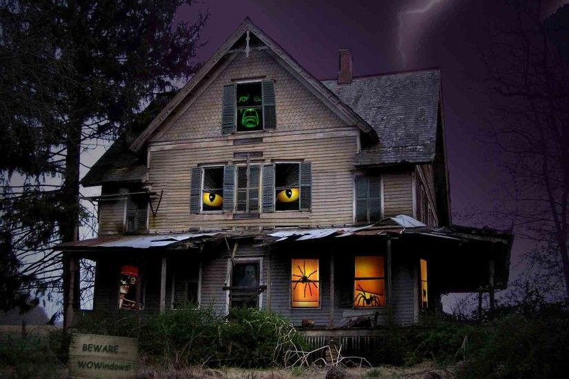 Scary-Halloween-2012-Haunted-House-HD-Wallpaper