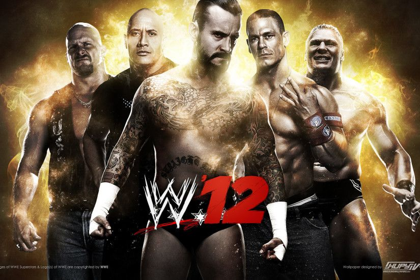 WWE '12 wallpaper 1920×1200 ...