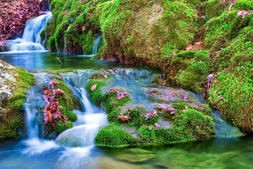 most popular waterfall background 2560x1600