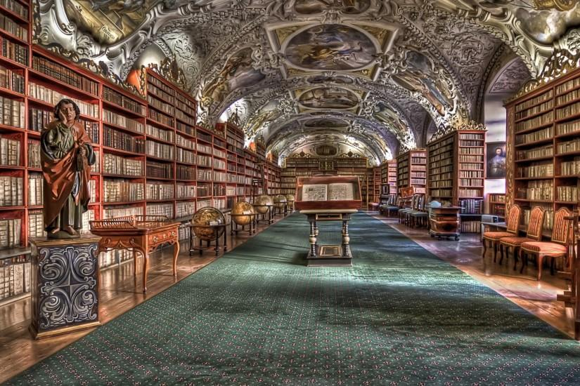 World architecture rooms library books hdr wallpaper | 1920x1200 .