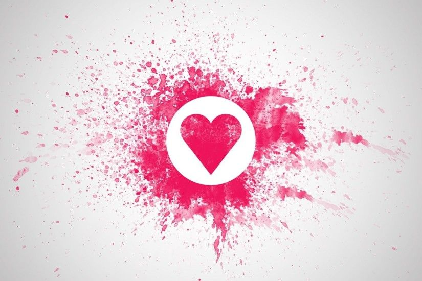 2560x1600 4k Wallpaper, Hearts Wallpaper, Little Hearts, Love Wallpaper,  One Heart, Red