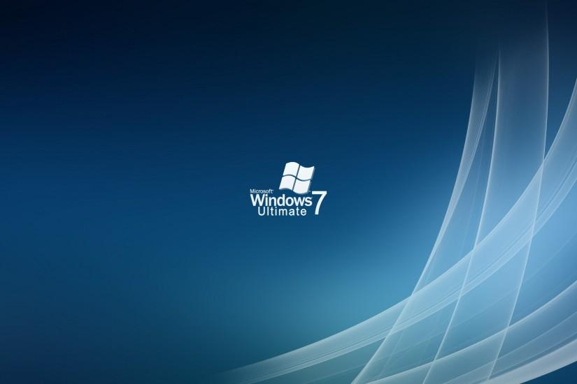 Windows 7 Ultimate fond ecran hd